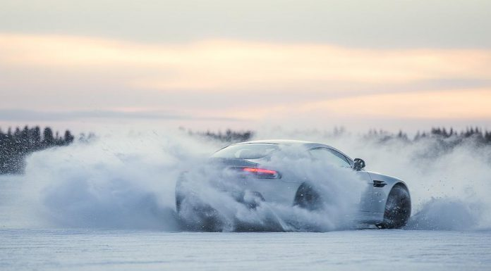 2015 Aston Martin On Ice Driving Experience in Lapland