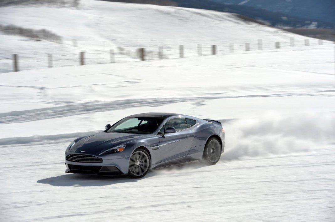 2015 Aston Martin on Ice Driving Experience in Colorado