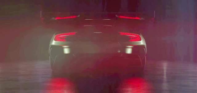 Aston Martin Vulcan Rear Wing