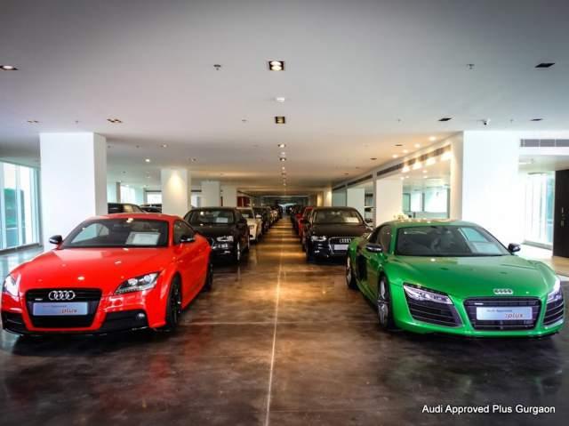 Audi Approved Plus Showroom in Gurgaon