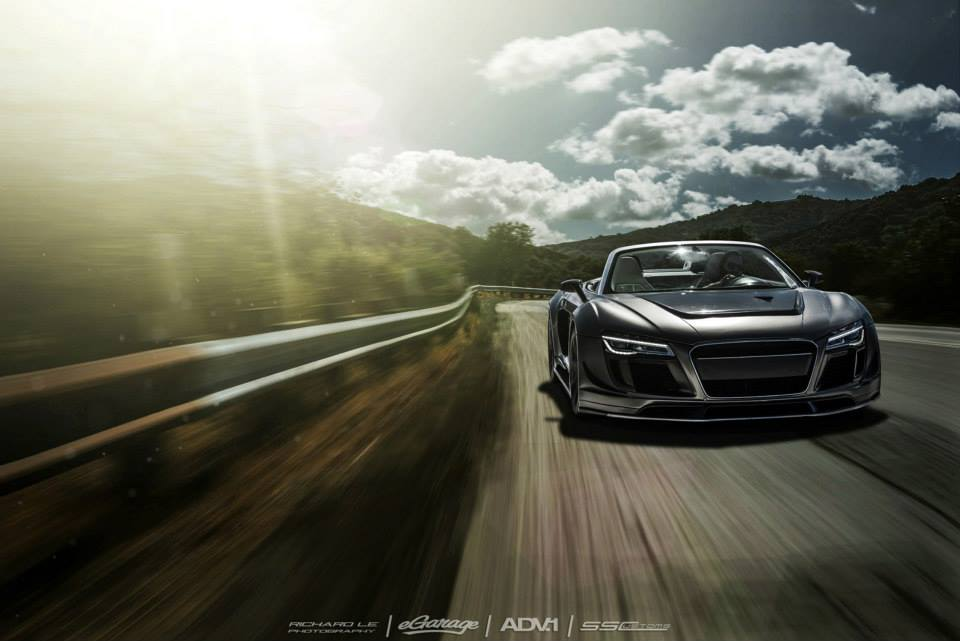Audi R8 PPI Razor GTR Stuns on Gunmetal ADV.1 Wheels!