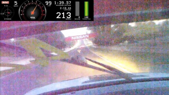 BMW M3 GTR Hits Kangaroo at Bathurst