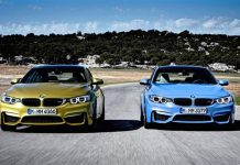 BMW M3 and M4 Coupe