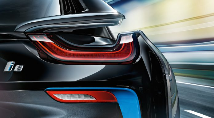 BMW i8 LED tail light