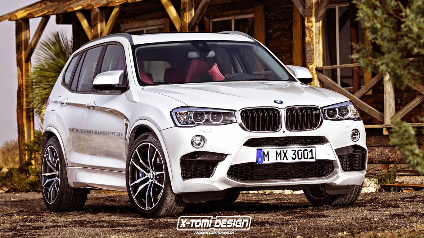 potential bmw x3 m rendered gtspirit. Black Bedroom Furniture Sets. Home Design Ideas