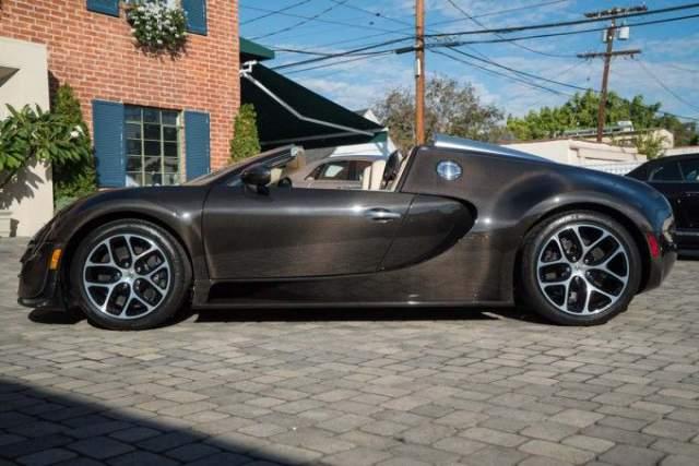 bespoke bugatti veyron vitesse le diamant noir for sale. Black Bedroom Furniture Sets. Home Design Ideas