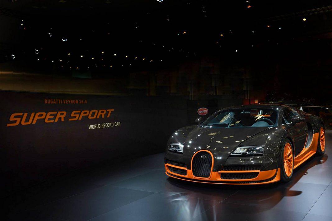 Bugatti Veyron Super Sport WRC Stars at Qatar Motor Show!