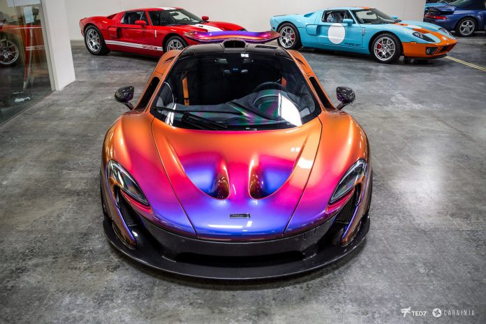 Photo of the Day: CJ Wilson's McLaren P1