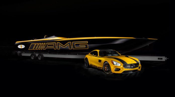 Marauder GT S Concept Boat Inspired by Mercedes-AMG GT