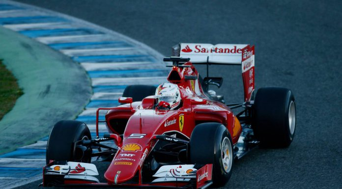 Ferrari's Vettel Sets Fastest Time on Day 1 Testing in Jerez