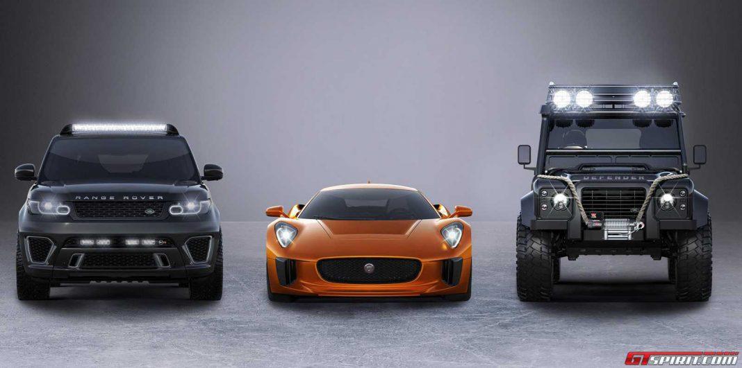 The Range Rover Sport SVR starring in Spectre