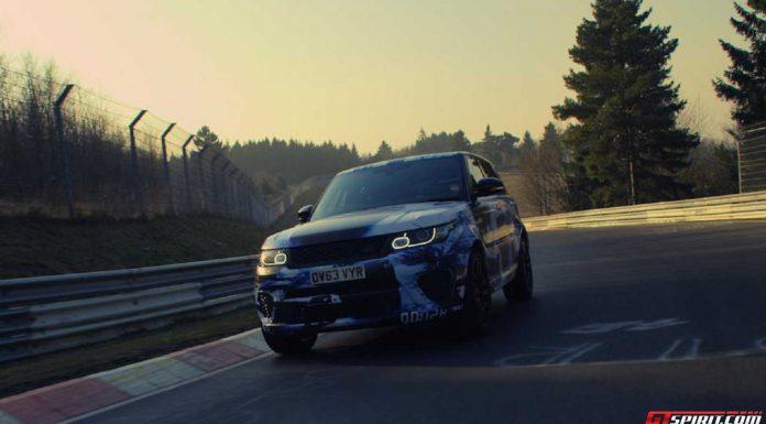 Range Rover Sport SVR at the Nurburgring