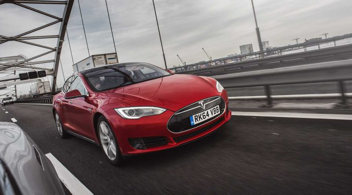 Destination Amsterdam in the Tesla S