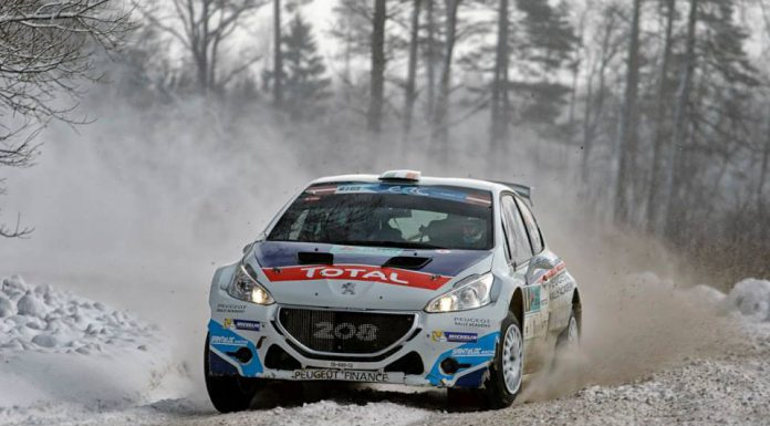 FIA ERC: Craig Breen Wins Snow Infested Rally Liepaja!