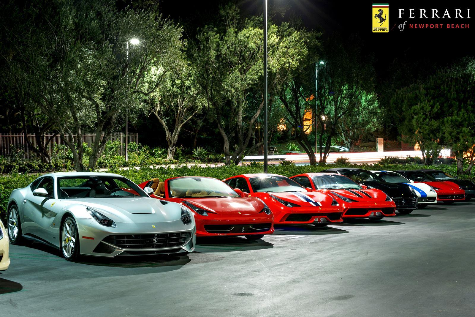 Laferrari Duo Rocks Ferrari Newport Beach Dinner Party Gtspirit