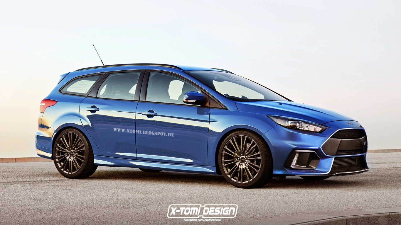 2019 G Wagon >> 2016 Ford Focus RS Rendered as Estate - GTspirit
