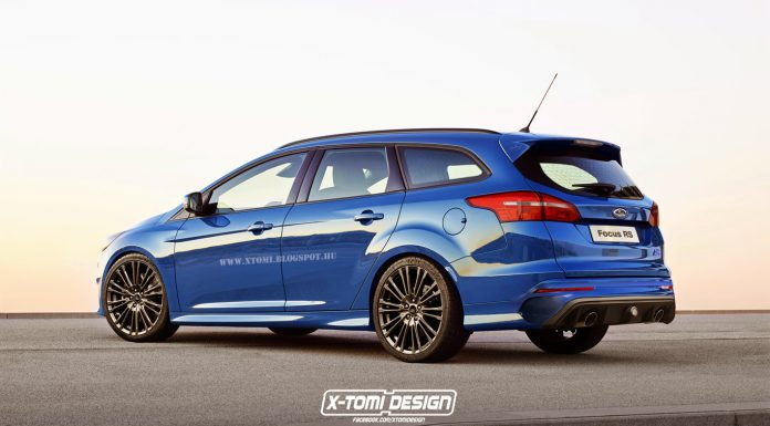 Ford Focus RS Turnier rear2