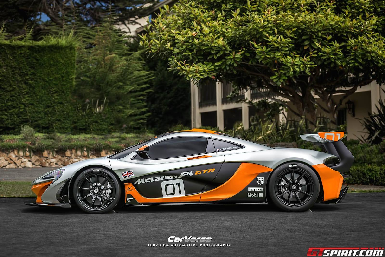 photo of the day mclaren p1 gtr design concept gtspirit