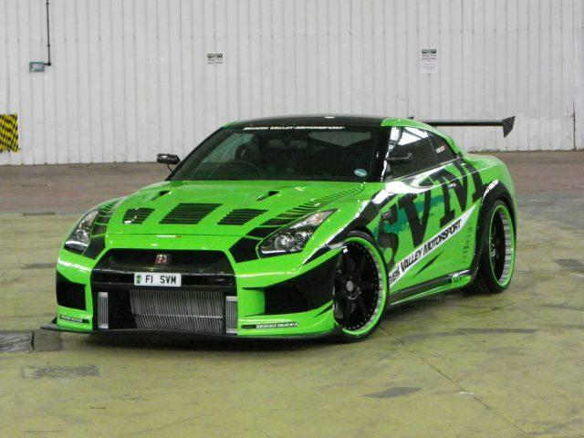 SVM Nissan GT-R Hulk