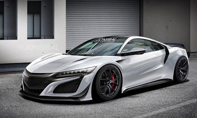 Jon Sibal Imagines Tuned 2016 Honda NSX  GTspirit