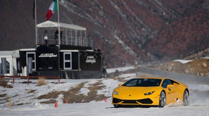 Lamborghini Winter Academy Thriller in the Aspen Snowmass