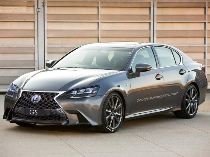 Lexus-GS-facelift-rendering-1