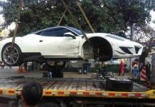 Mansory Ferrari 458 Siracusa Crashes in China