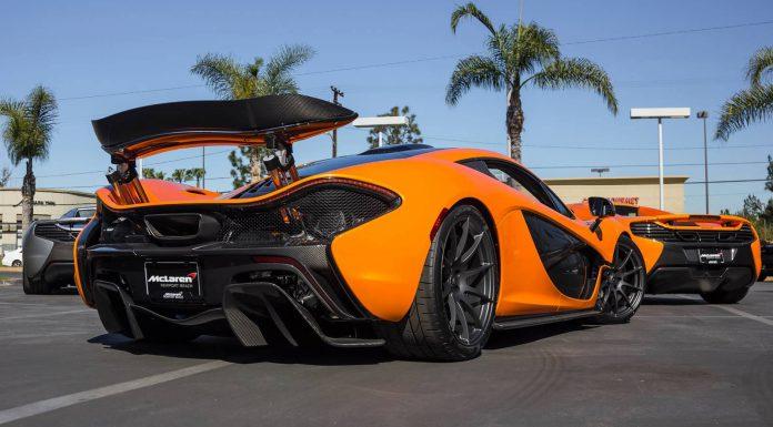 Stunning Pearl Tarocco Orange McLaren P1!