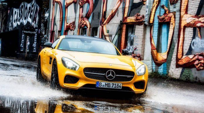 Solarbeam Yellow Mercedes-AMG GT S Breaking Bad in Berlin!Solarbeam Yellow Mercedes-AMG GT S Breaking Bad in Berlin!