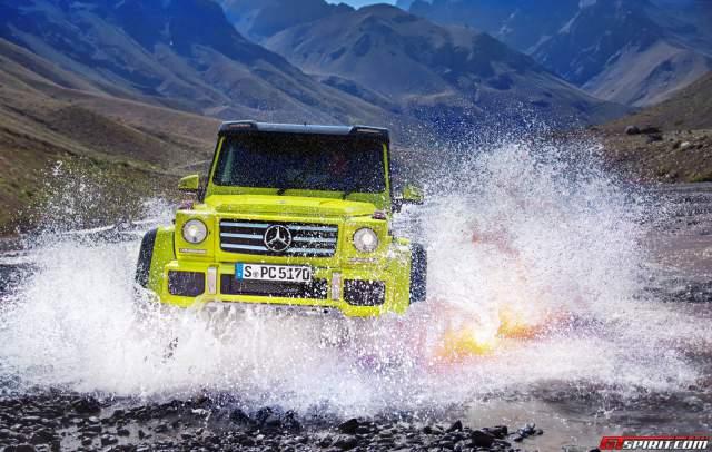Mercedes-Benz G500 4x4 Concept