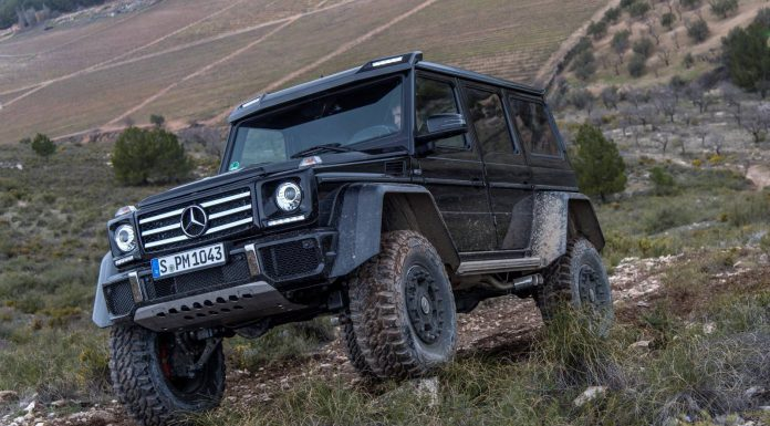 Mercedes-Benz G500 4x4 Review