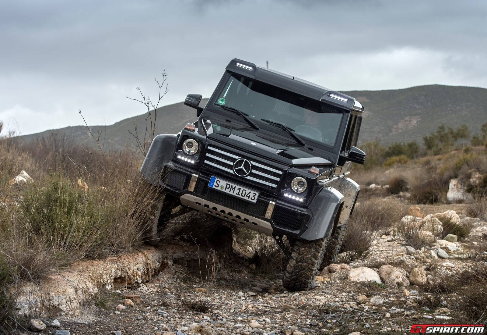 exclusive mercedes benz g500 4x4 review gtspirit