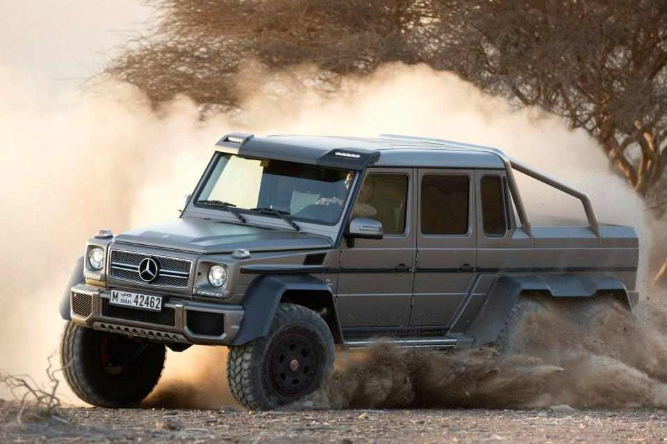 exclusive mercedes benz g63 amg 6x6 sold out gtspirit. Black Bedroom Furniture Sets. Home Design Ideas
