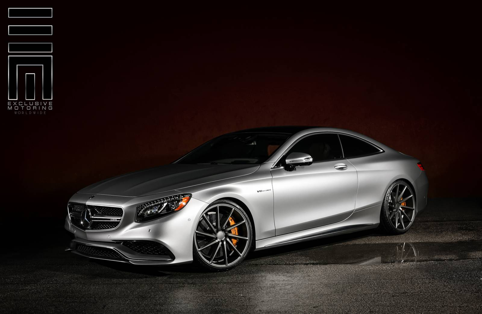 mercedes benz s63 amg coupe stuns on vossen wheels gtspirit. Black Bedroom Furniture Sets. Home Design Ideas