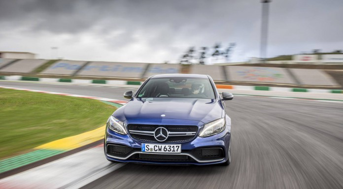 New Mercedes-AMG C63 Front