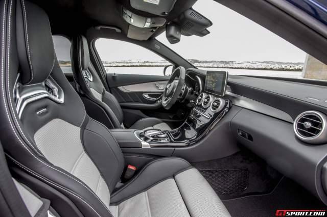 New Mercedes-AMG C63 Interior