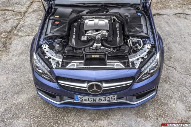 New Mercedes-AMG W177 V8 Engine