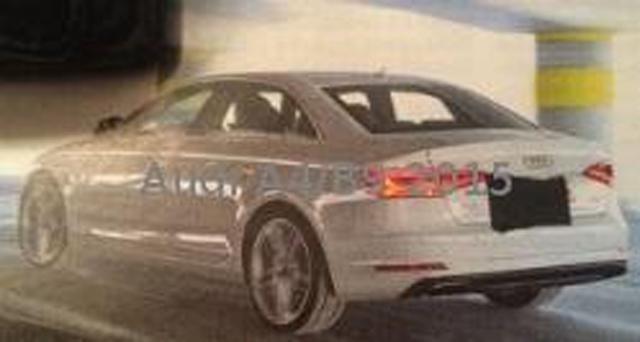 Next-Gen Audi A4 Back