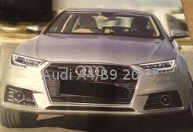 is this the new audi a4 gtspirit. Black Bedroom Furniture Sets. Home Design Ideas