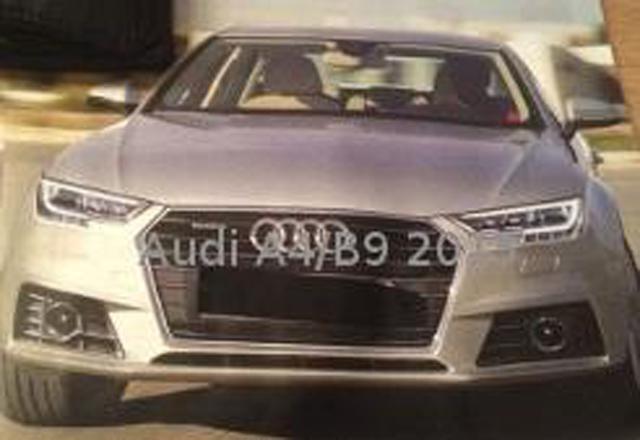 Next-Gen Audi A4 Front