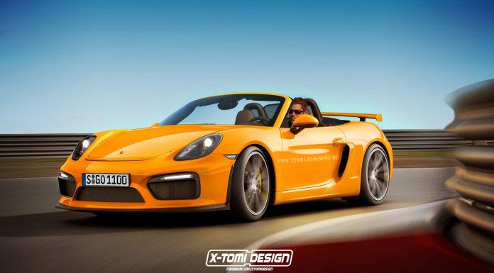 Porsche Boxster GT4 front2