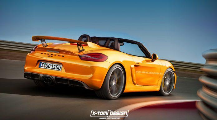 Porsche Boxster GT4 rear2