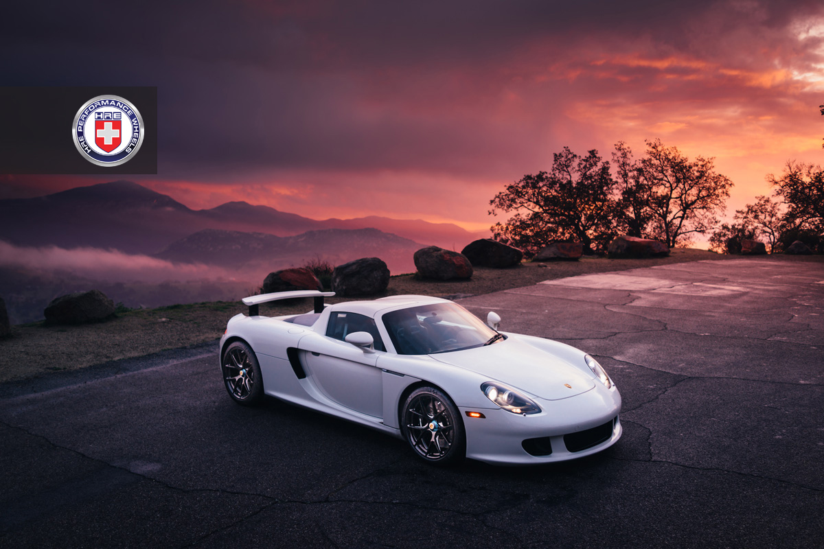 gorgeous white porsche carrera gt photoshoot gtspirit. Black Bedroom Furniture Sets. Home Design Ideas