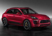 Metallic Red Porsche Macan Turbo by Porsche Exclusive