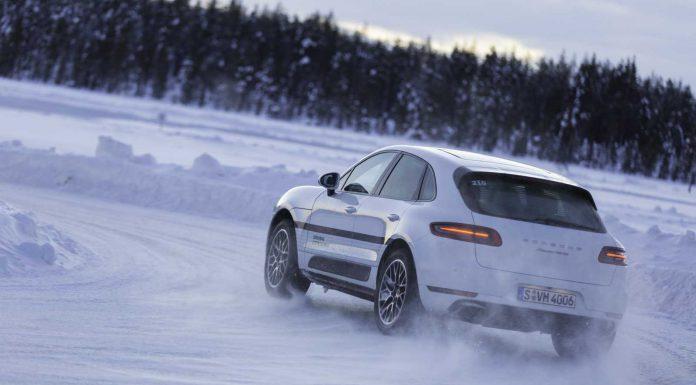 Porsche Macan Turbo Drift