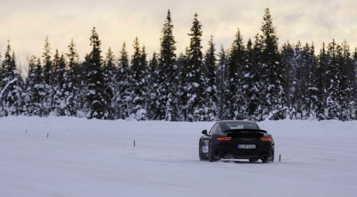 Porsche Winter Driving Experience Slalom