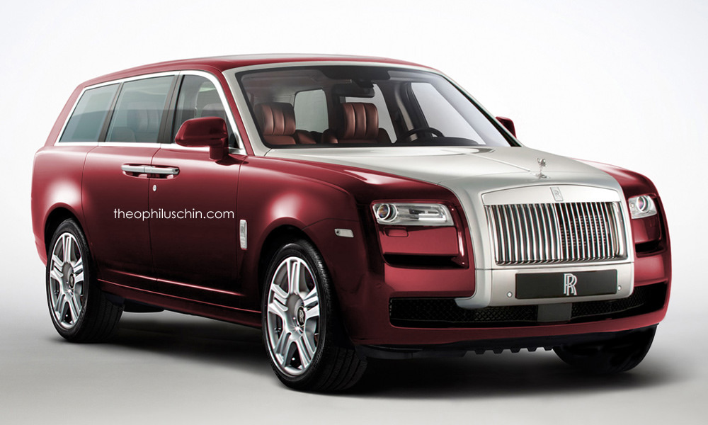 Confirmed Rolls Royce Suv Could Look Like This Gtspirit