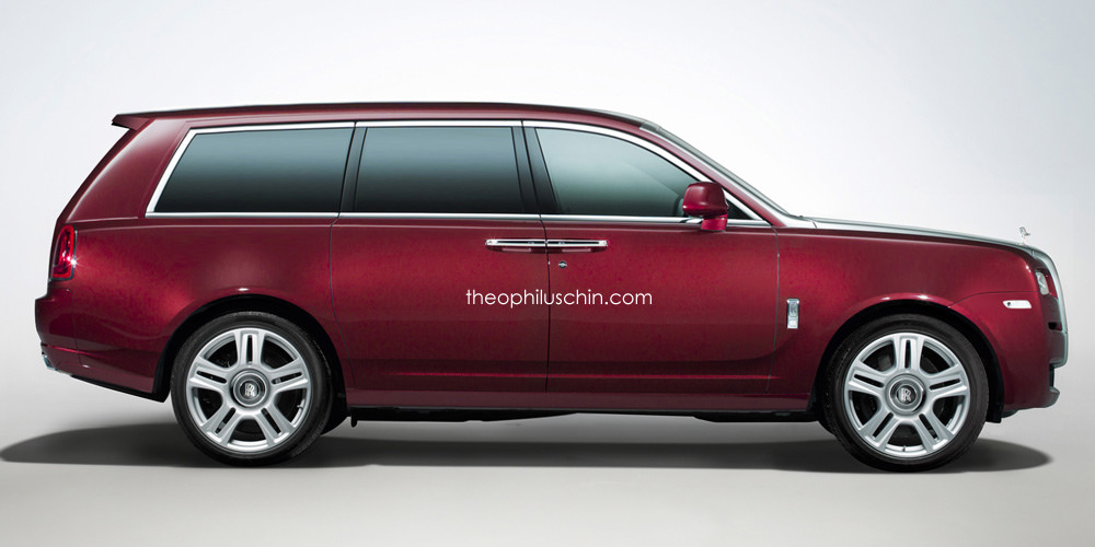 Rolls-Royce SUV arriving in 2018