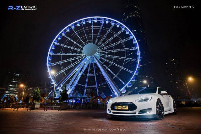 Revozport Tesla Model S Reveals More Style in New Photoshoot