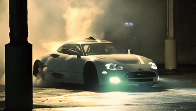 Video thumbnail for youtube video Video: Spyker C8 Goes Hooning!